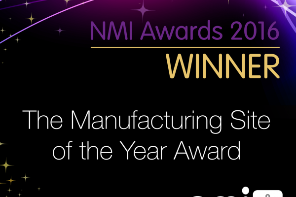 The Manufacturing Site of the Year Award