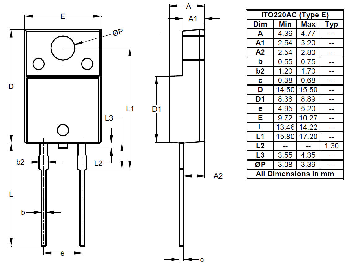 Package Outlines And Suggest Pad Layouts Diodes Incorporated 4 Blade 220 Vac Wiring Diagram