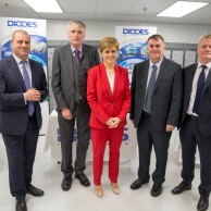 Scottish Enterprise grant helps Diodes Incorporated grow for the future in Greenock