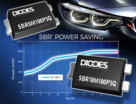Automotive Super Barrier Rectifier Improves Efficiency and Reliability for Any Design SBR8M SBR10M100P5Q