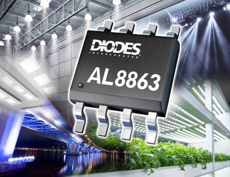 Buck LED Driver Controller with Fault Detection and Thermal Fold Back for Improved Reliability AL8863