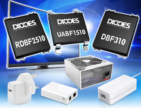 Miniature Surface Mount High Voltage Bridge Rectifiers DIO 6715 PR image DBF UABF RDBF MR