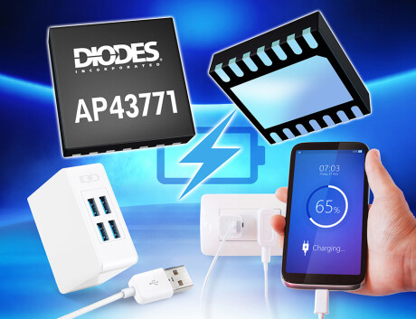 Solution for USB PD 3.0 PPS and QC 4 4+ AP43771