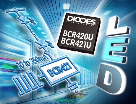Current Regulators Simplify the Driving of LEDs MR Image BCR420UFD