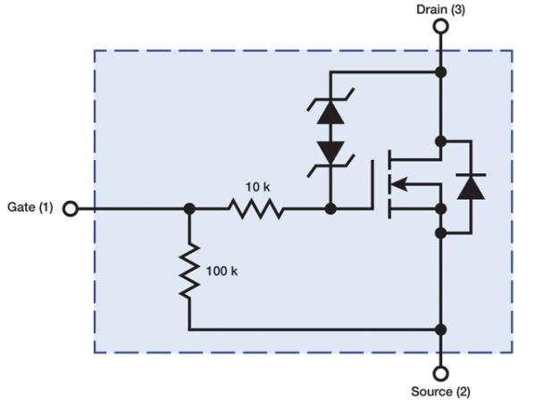 diodes incorporated develops self protected mosfets for not gate circuit using diode not gate circuit diagram using transistor