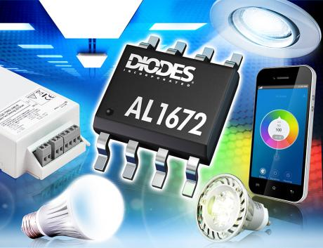 Single Stage Dimmable Buck Converter with 600V 4A MOSFET DIO 6130 PR Image AL1672 MR